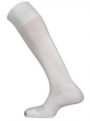 Football Socks Mercury White
